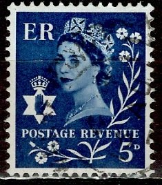 Great Britain, Northern Ireland; 1968: Sc. # 10: O/Used Single Stamp