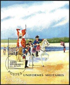 Benin 1997 Military Uniforms Horses S/S Used / CTO