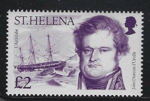 St Helena 1986 Explorers & Ships set Sc# 462-74 NH