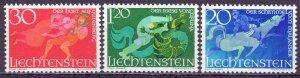Liechtenstein. 1967. 497-99. fairy tales. MNH.