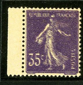 France Stamps # 142i XF OG LH Maury Scott Value $775.00