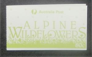 Australia 996a-b. 1986 Wildflowers, unexploded bookets, NH