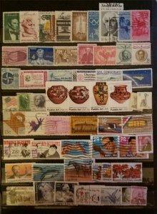 US USED Postage Stamp Lot F863