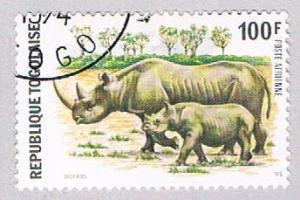 Togo C237 Used Rhinos 1974 (BP3187)