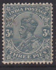 India Sc#106 Used