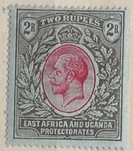 East Africa, Uganda and Protectorates 50 m
