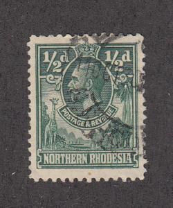 Northern Rhodesia Scott #1 Used