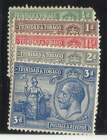 Trinidad and Tobago SC 21-25 1/2-3p MH F/VF