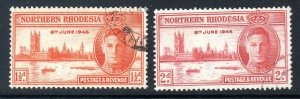 NORTHERN RHODESIA   1946 VICTORY issue     used
