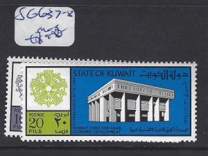 KUWAIT (P1102B)   SG 637-8       MOG