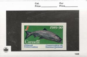 1989-90 Canada  British Columbia Chinook Conservation Stamp