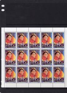 Mali 1995 Mi#1459A AYRTON SENNA FORMULA 1 Mini-Sheetlet (15) MNH VF