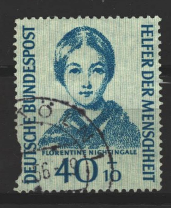 COLLECTION LOT # 3399 GERMANY #B347 FAULTY 1955 CV=$30