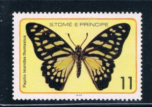 Saint Thomas and Prince Is 505c MNH Butterflys (GI0421)