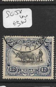 MALAYA KEDAH (P1105B) COW  12C  SG 58      VFU