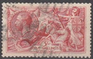 Great Britain #180 F-VF Used CV $125.00 (C8173)