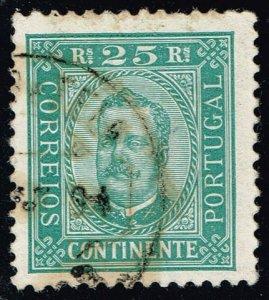 Portugal #71a King Carlos; Used (2.00) (3Stars)