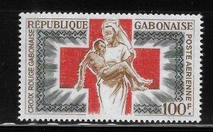 Gabon 1965 Gabonese Red Cross Sc C34 MNH A2019