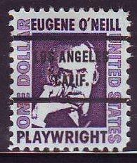 Los Angeles CA, 1294-71 Bureau Precancel, $1 O'Neill