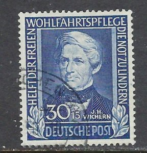 Germany B313 Used 1949 issue from set