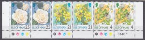 1998 Isle of Man 748I-750I/HB64 Flowers 4,00 €