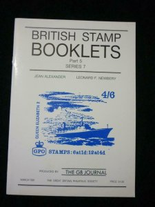 BRITISH STAMP BOOKLETS PART 5 SERIES 7 by ALEXANDER & NEWBERY