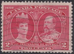 Canada 98 King Edward VII & Queen Alexandra 1908