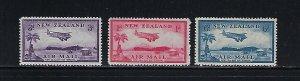 NEW ZEALAND SCOTT #C6-C8 1935  AIR MAILS- MINT NEVER HINGED
