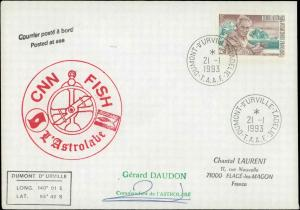 French Southern & Antarctic Territory #212, Antarctic Cachet and/or Cancel