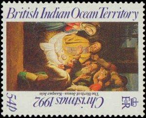 1992 British Indian Ocean Territory #128-131, Complete Set(4), Never Hinged