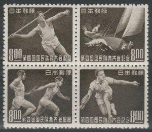 1949 Japan 471-74VB Sport 48,00 €
