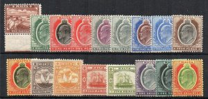 Malta 1904-14 set to 5s MLH/MH