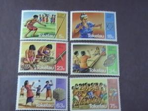 TOKELAU # 97-102 -MINT NEVER/HINGED-COMPLETE SET---QEII----1983