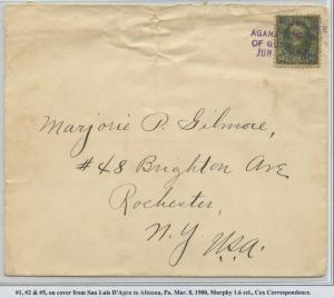 GUAM #10 ON COVER MARCH 8,1900 CV $900 BS8472 HS108G