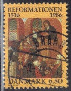 DENMARK SC# 830 **USED** 6.50k 1986 SEE SCAN