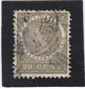 Netherlands   Indies  #  53   used