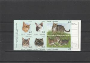 Finland  Scott#  977a  MNH Complete Booklet  (1995 Cats)