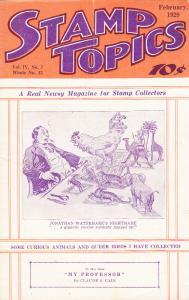 Stamp Topics  Feb. 1929