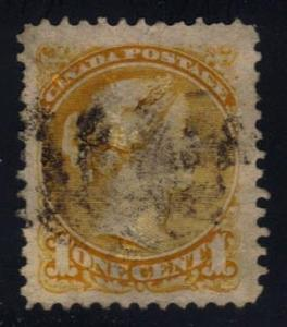 Canada #35 Queen Victoria - used (1.25)