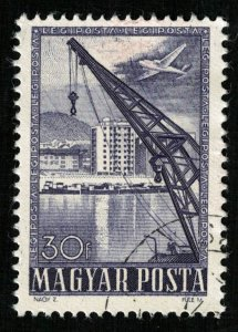 1950, Airmail - Techonology, Magyar, 30f (T-9954)