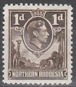 Northern Rhodesia #27  MNH  (K1285)