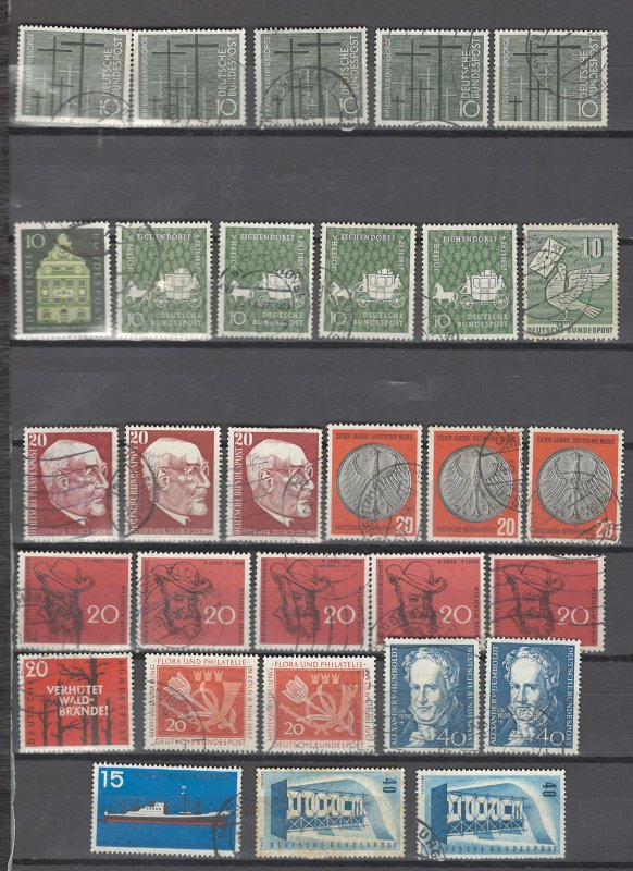 COLLECTION LOT # 2934 GERMANY 29 STAMPS 1956+ CLEARANCE CV+$21