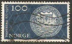 Norway Used Sc 569 - 1,100th Anniversary - City of Tonsberg