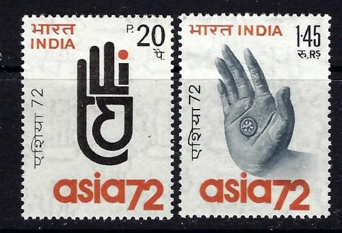 India 564-65 Hinged 1972 issue