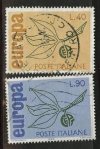 Italy Scott 915-916 Used 1965 Europa set