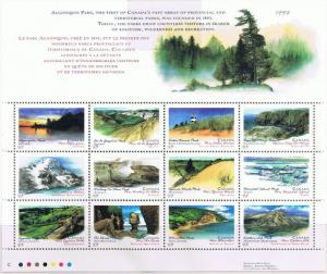 Canada Mint VF-NH #1483a Canada Day Parks sheet