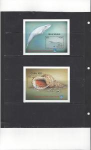 Maldives 2349-50 MNH Year of the Ocean 2 Souvenir Sheets