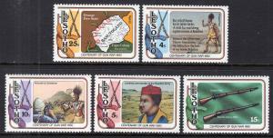 Lesotho 286-290 MNH VF