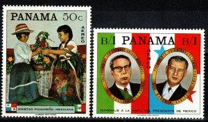 Panama #361, 361A  MNH  CV $6.00 (X237)