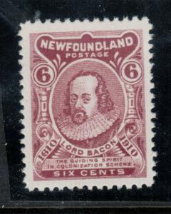 Newfoundland #92a Extra Fine Never Hinged